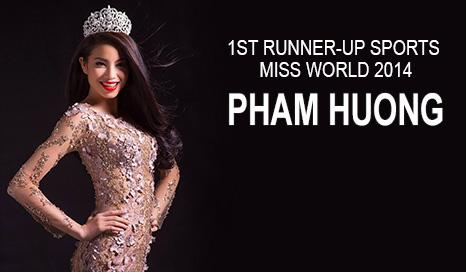 Pham Huong - Miss World Sport 2014