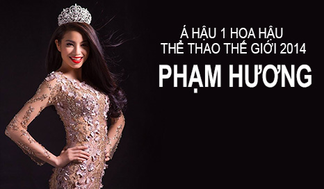 Á hậu 1 Hoa hậu Thể thao thế giới Phạm Hương