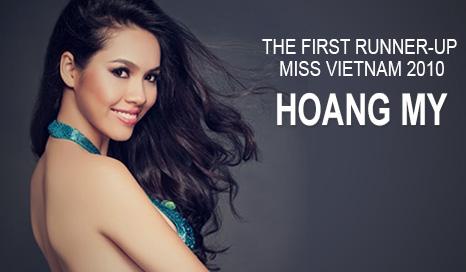 Hoang My - Miss Vietnam 2010