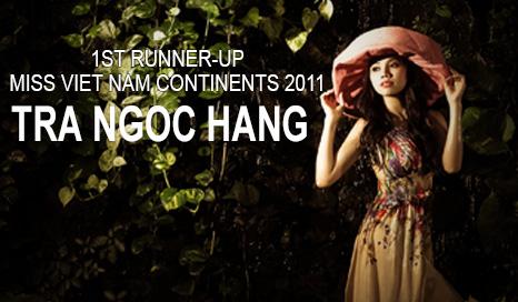 Model Tra Ngoc Hang